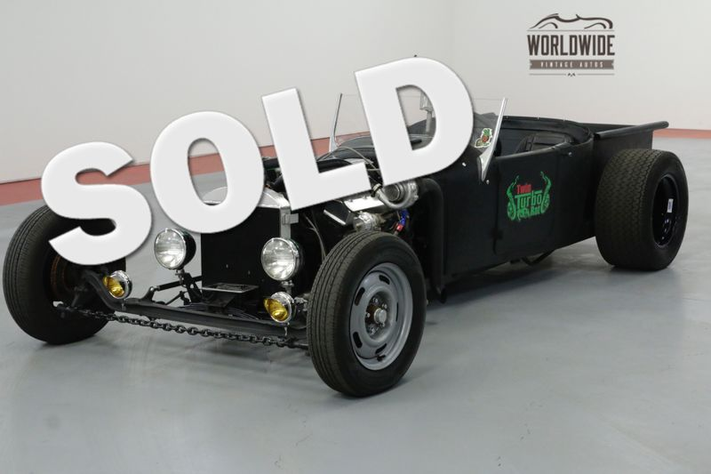 1927 Ford TRUCK TWIN TURBO V8! AUTO. DISC BRAKES. FAST! RAT ROD   Denver, CO   Worldwide Vintage Autos