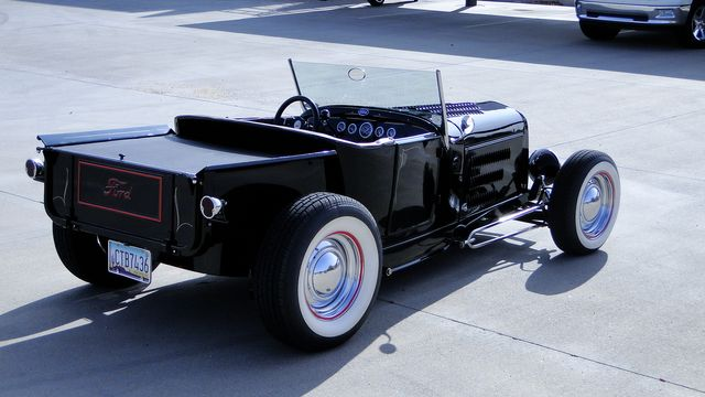 1927 Ford T ROADSTER PICK-UP 5 SPEED W/ 327 TRI-POWER Phoenix, Arizona 2