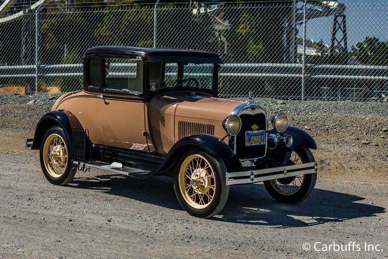 1929 Ford Model A Rumble Seat   Concord, CA   Carbuffs in Concord, CA