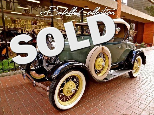 1929 Ford Model A La Jolla, California