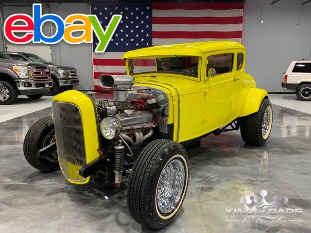 "1930 Ford 5 Window STEEL BODY 383SBC ""AMERICAN GRAFFITI"""
