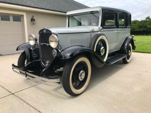 1931 Chevrolet AE Independence 4 Door Sedan