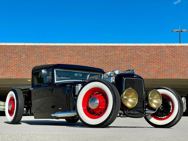 1931 Ford Custom Pick Up MODEL A RAT ROD SHOW WINNER ONE OF A KIND WOW