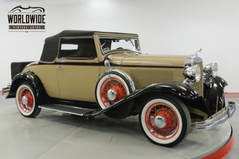 1932 Dodge CABRIOLET  ONLY 224 MADE  | Denver, CO | Worldwide Vintage Autos in Denver, CO