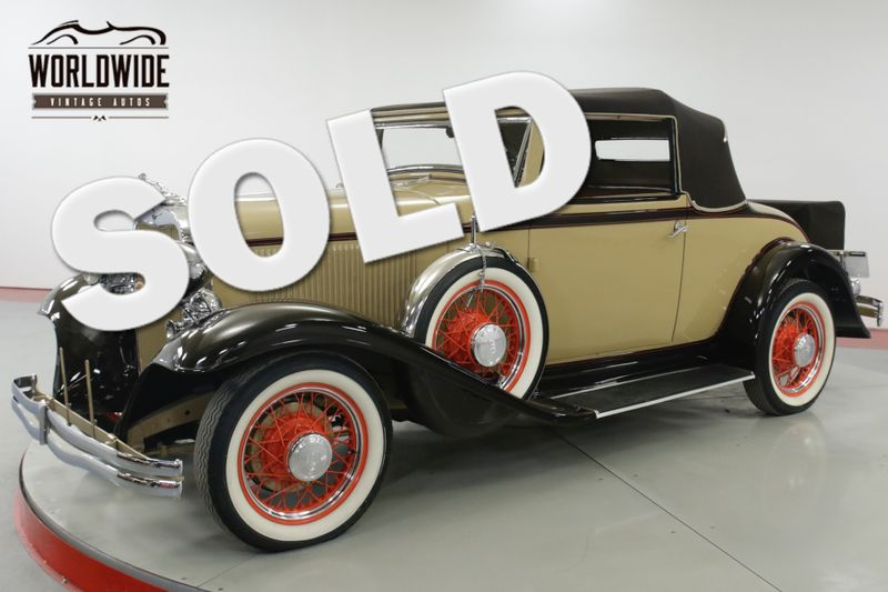 1932 Dodge CABRIOLET  ONLY 224 MADE  | Denver, CO | Worldwide Vintage Autos