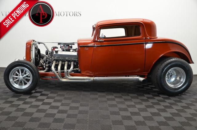 1932 Ford 3 WINDOW $75K BUILD 522 CI V8 AUTO