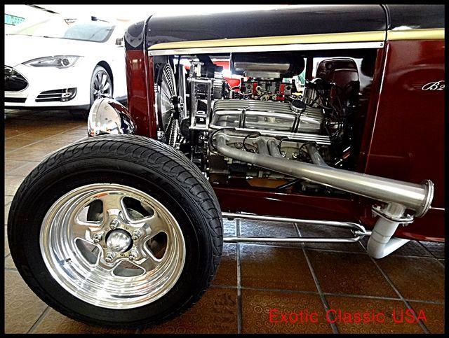 1932 Ford Model B Roadster Hot Rod San Diego, California 71
