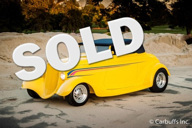 1933 Ford Cabriolet Street Rod | Concord, CA | Carbuffs