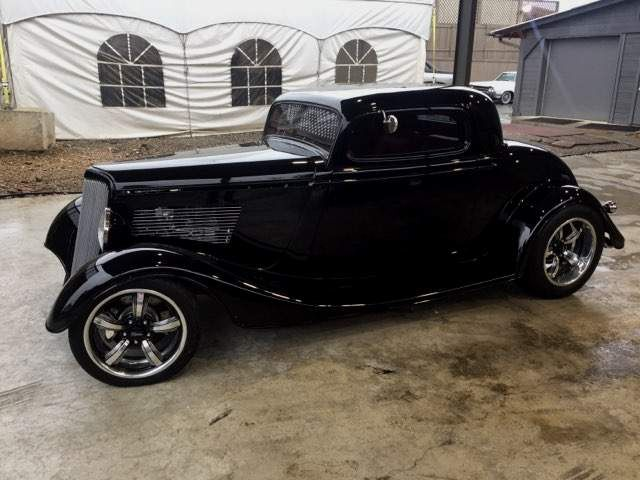 1934 Ford 3 window coupe Bebop Body