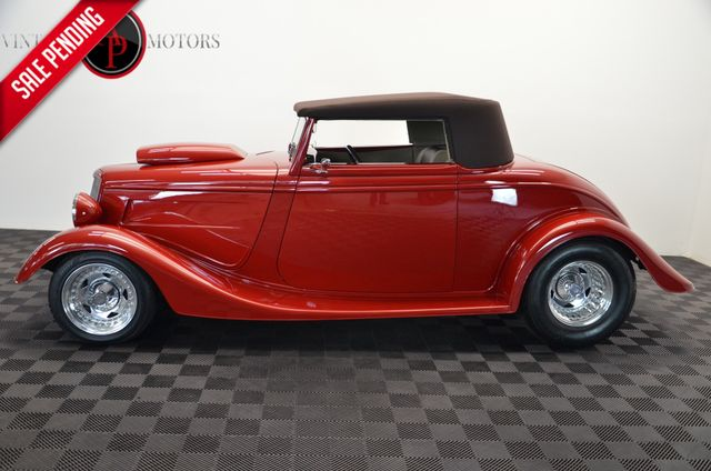 1934 Ford CABRIOLET BIG BLOCK SHOW CAR