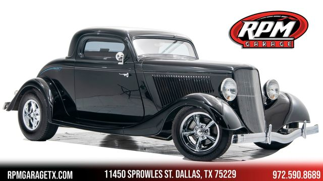 1934 Ford Coupe Gibbon's Body
