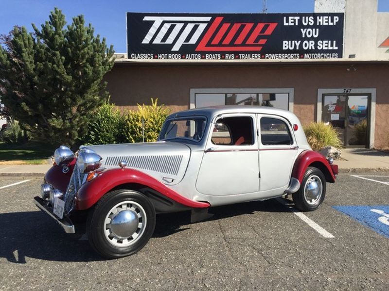 1950 Citroen Traction Avant  | Marriott-Slaterville, UT | Top Line Auto Sales