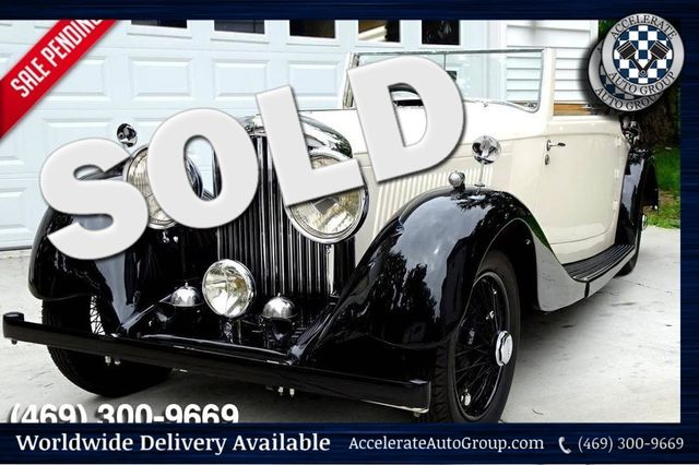 1937 Bentley 4.25 Liter Drop Head Coupe BEAUTIFUL, AUTHENTIC AND ULTRA RARE in Rowlett