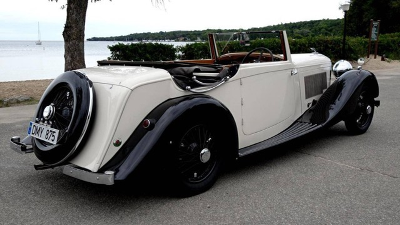 1937 Bentley 4.25 Liter Drop Head Coupe BEAUTIFUL, AUTHENTIC AND ULTRA RARE in Rowlett, Texas