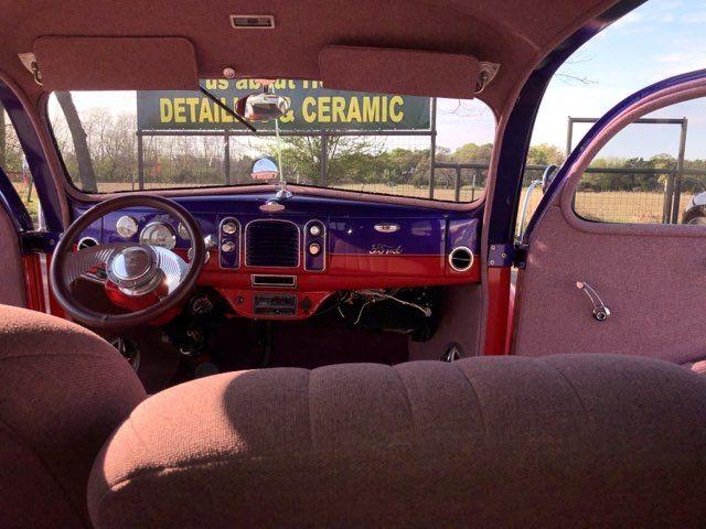 1938 Ford Restromod  2 Door Humpback Boerne, Texas 25