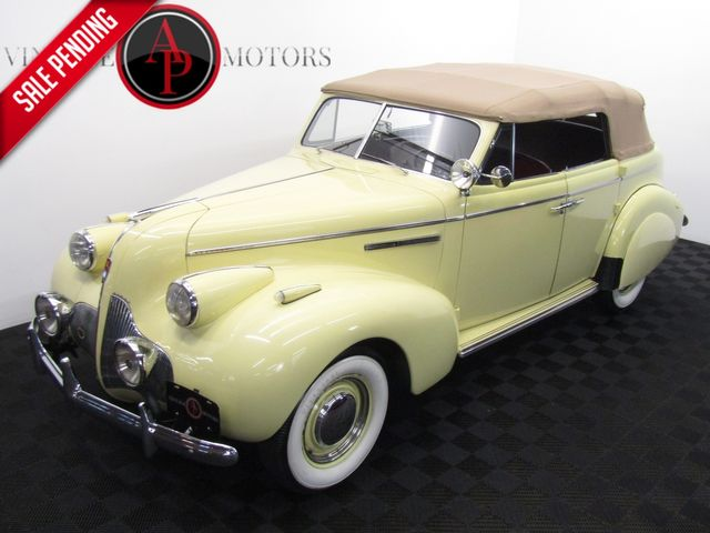 1939 Buick PHAETON SPECIAL MODEL 41C PHAETON CONVERTIBLE 1 of 724