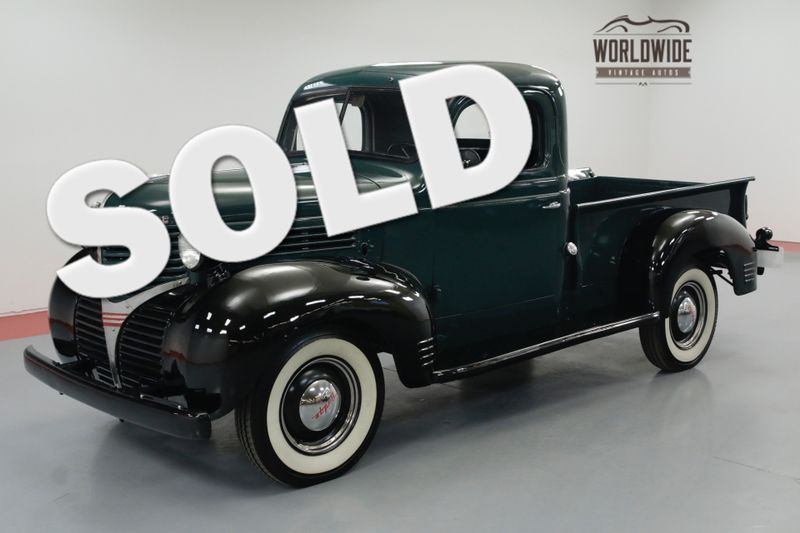 1939 Dodge TRUCK RESTORED. RARE 1/2 TON PICKUP | Denver, CO | Worldwide Vintage Autos