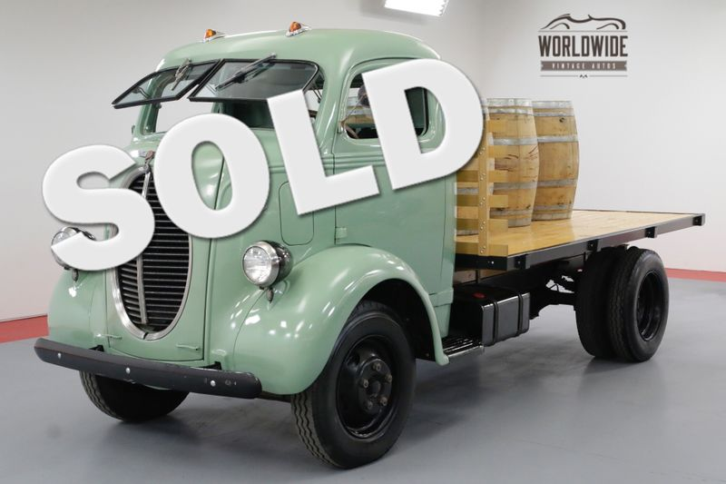 1940 Ford COE FRAME OFF RESTORED FLATHEAD V8 RARE CABOVER | Denver, CO | Worldwide Vintage Autos