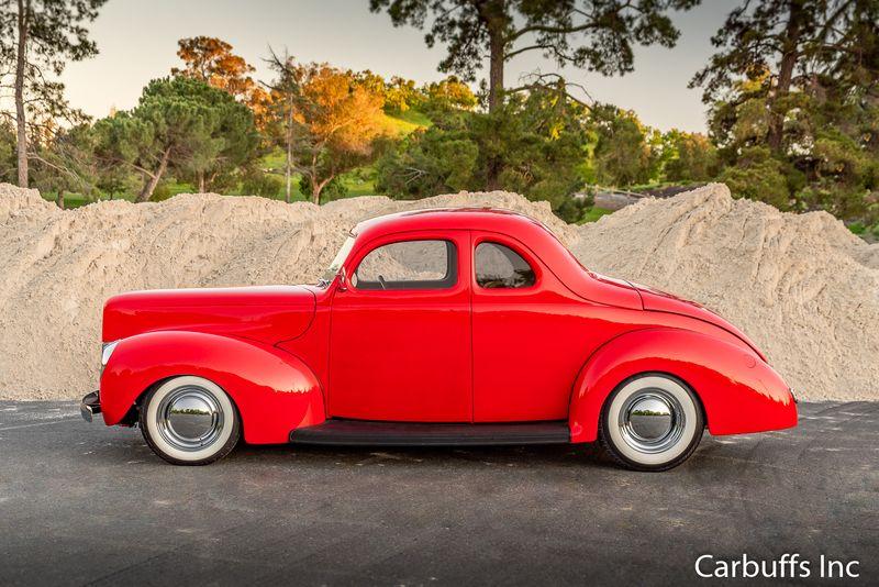 1940 Ford Coupe Street Rod   Concord, CA   Carbuffs in Concord, CA