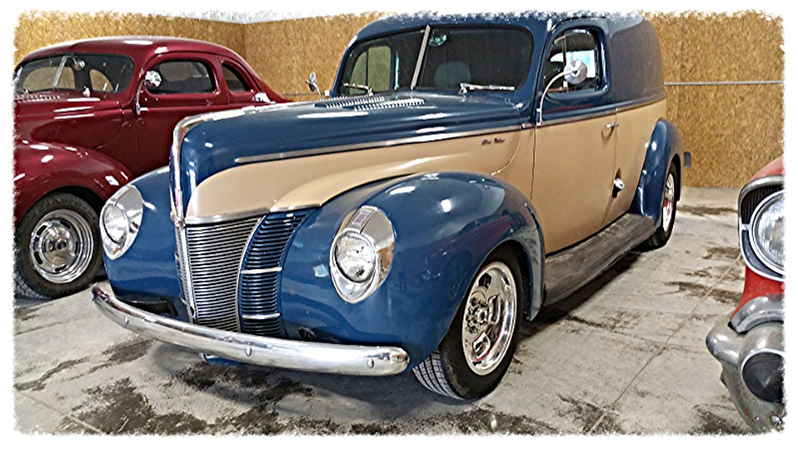 1940 Ford Sedan Delivery 1941 Panel Truck In Ohio