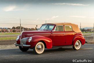 1940 Mercury Eight Convertible Sedan   Concord, CA   Carbuffs in Concord