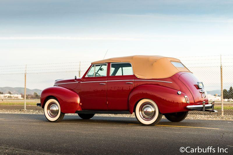 1940 Mercury Eight Convertible Sedan   Concord, CA   Carbuffs in Concord, CA