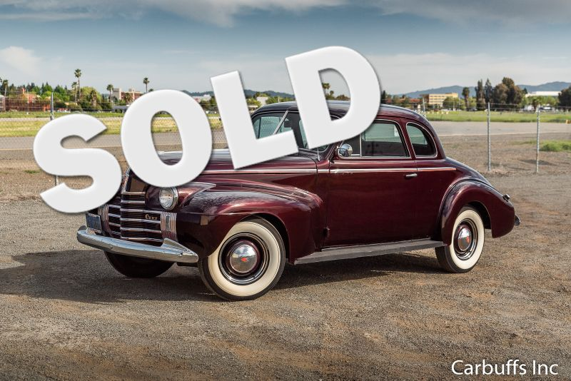 1940 Oldsmobile Business Coupe    Concord, CA   Carbuffs