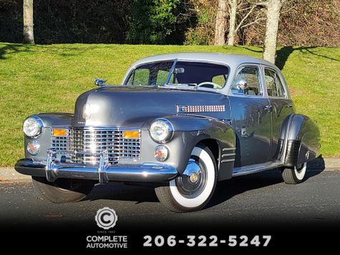 1941 Cadillac Series 62 4 Door Upgraded to Chevrolet 327 V8 Turbo 350 Drives Nice in Seattle