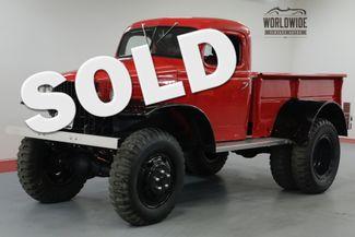 1941 Dodge POWER WAGON FRAME OFF RESTORATION $70K+ BUILD 500 MILES.   Denver, CO   Worldwide Vintage Autos in Denver CO