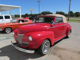 1941 Ford Convertible Blanchard, Oklahoma