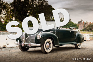 1941 Lincoln Zephyr Convertible   Concord, CA   Carbuffs in Concord