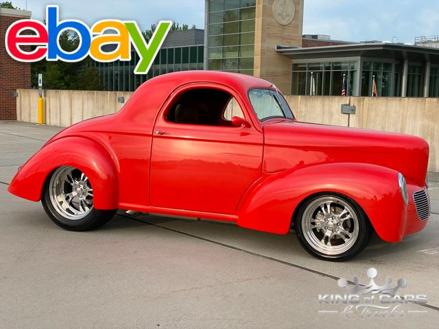 1941 Willys Coupe Street Rod 502CI FULL RESTO $120k+ BUILD STUNNING MUST SEE WOW