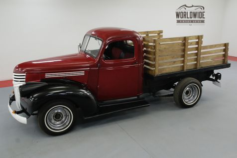 1945 Chevrolet STAKEBED CARED FOR IN A HEATED BARN 4-SPEED 6 CYL  | Denver, CO | Worldwide Vintage Autos in Denver, CO