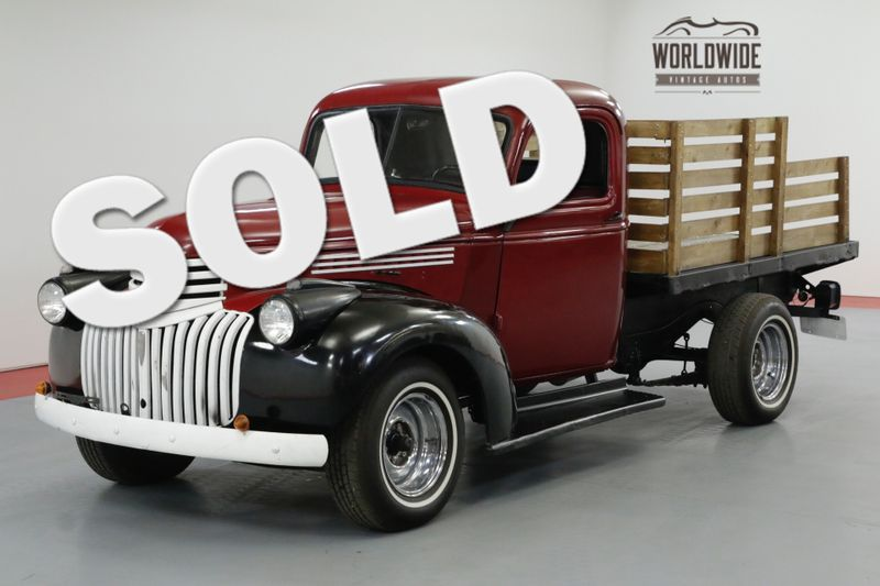 1945 Chevrolet STAKEBED CARED FOR IN A HEATED BARN 4-SPEED 6 CYL  | Denver, CO | Worldwide Vintage Autos