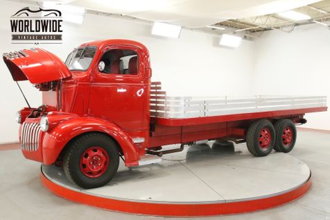 1946 Chevrolet CABOVER RARE COE. 6x6. 500 V8. AC. DISC. RESTORED | Denver, CO | Worldwide Vintage Autos in Denver, CO
