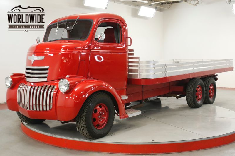 1946 Chevrolet CABOVER RARE COE. 6x6. 500 V8. AC. DISC. RESTORED | Denver, CO | Worldwide Vintage Autos