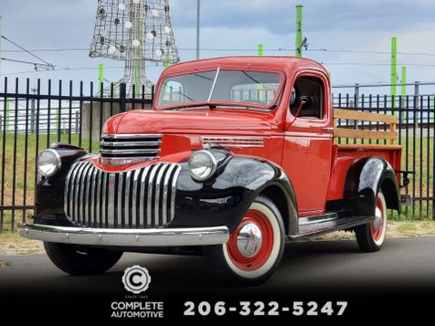 1946 Chevrolet Regular Cab 3104 Professionaly Restored Frame Off Rare Farmers Bed in Seattle