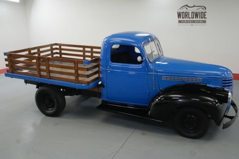 1946 Chevrolet STAKEBED 216 4 SPEED CLASSIC!  | Denver, CO | Worldwide Vintage Autos in Denver, CO