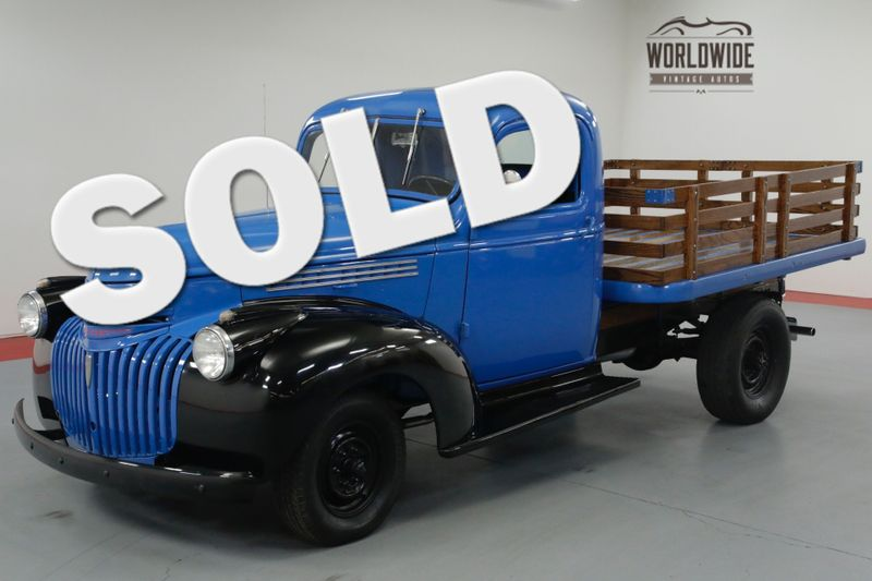 1946 Chevrolet STAKEBED 216 4 SPEED CLASSIC!  | Denver, CO | Worldwide Vintage Autos