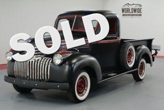 1946 Chevrolet 3100 RESTORED. 4 SPEED. NEW OAK BED. NEW WHEELS. | Denver, CO | Worldwide Vintage Autos in Denver CO