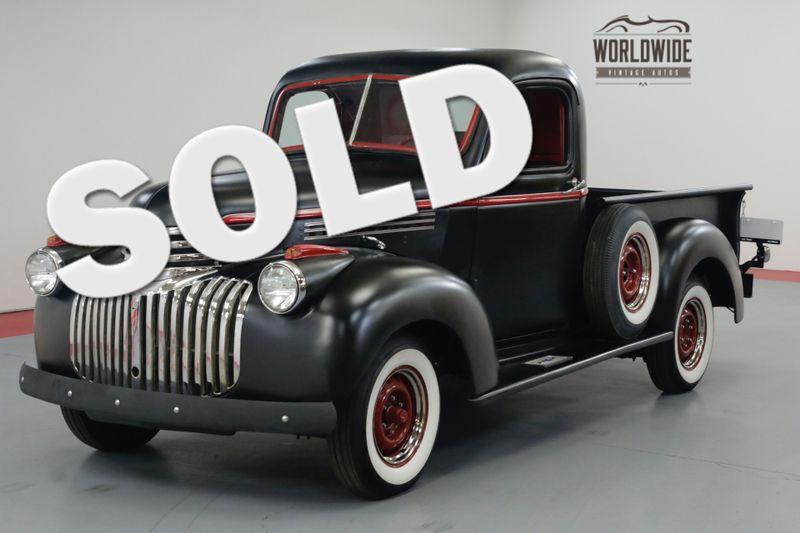 1946 Chevrolet 3100 RESTORED. 4 SPEED. NEW OAK BED. NEW WHEELS.   Denver, CO   Worldwide Vintage Autos