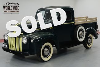 1946 Ford F100 RARE RESTORED, FLATHEAD V8, TURNKEY. | Denver, CO | Worldwide Vintage Autos in Denver CO