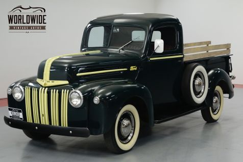 1946 Ford F100 RARE RESTORED, FLATHEAD V8, TURNKEY. | Denver, CO | Worldwide Vintage Autos in Denver, CO