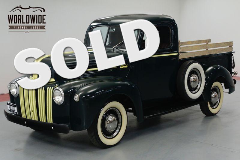 1946 Ford F100 RARE RESTORED, FLATHEAD V8, TURNKEY. | Denver, CO | Worldwide Vintage Autos