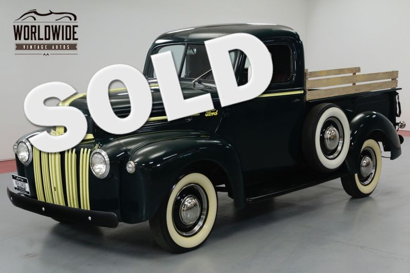 1946 Ford F100 RARE RESTORED, FLATHEAD V8, TURNKEY. | Denver, CO | Worldwide Vintage Autos