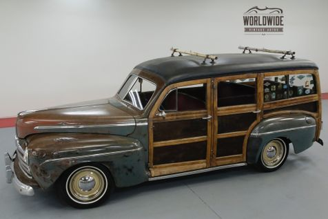 1946 Ford WOODY  HOT ROD RAT ROD! LS MOTOR! PS. PB. DISC! | Denver, CO | Worldwide Vintage Autos in Denver, CO