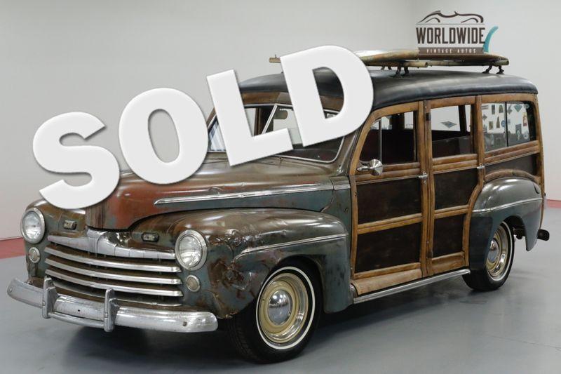 1946 Ford WOODY  HOT ROD RAT ROD! LS MOTOR! PS. PB. DISC! | Denver, CO | Worldwide Vintage Autos