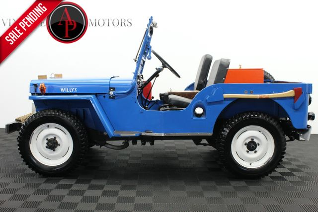 1946 Jeep CJ2A WILLYS RESTORED