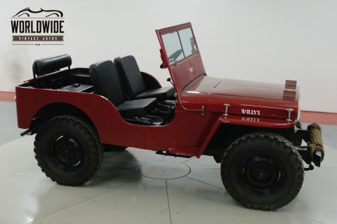 1947 Willys CJ2A NEW PAINT | Denver, CO | Worldwide Vintage Autos in Denver, CO