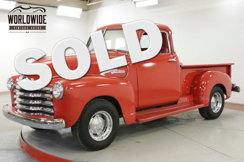 1947 Chevrolet 3100 350 V8 AUTO 10 BOLT REAR END AC  | Denver, CO | Worldwide Vintage Autos